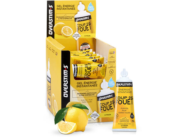 OVERSTIM.s Coup de Fouet Caja de Geles 36x30g, Lemon